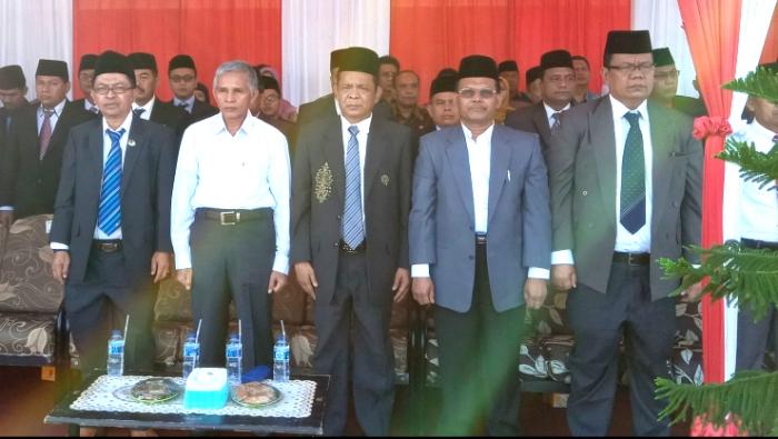 Ketua STAIN Bengkalis Beserta Rombongan ikuti upacara Peringatan HAB ke – 73 di Kepulauan Meranti RIAU
